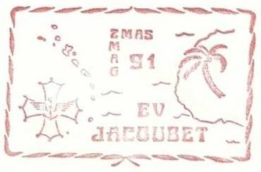 * ENSEIGNE DE VAISSEAU JACOUBET (1982/....) * 91-06_13