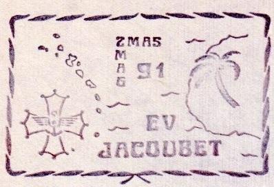 * ENSEIGNE DE VAISSEAU JACOUBET (1982/....) * 91-06_14