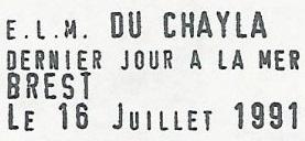 * DU CHAYLA (1957/1991) * 91-0710
