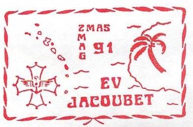 * ENSEIGNE DE VAISSEAU JACOUBET (1982/....) * 91-0810