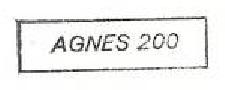 * AGNÈS 200 (1990/1992) * 92-01_11