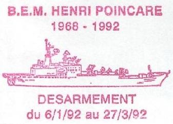 * HENRI POINCARÉ (1968/1992) * 92-0214