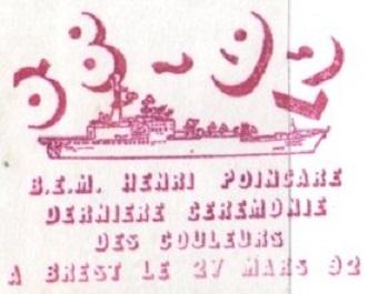 * HENRI POINCARÉ (1968/1992) * 92-0312