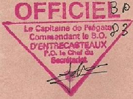 * D'ENTRECASTEAUX (1971/2008) * 92-0313