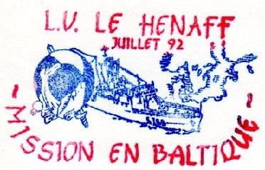 * LIEUTENANT DE VAISSEAU LE HÉNAFF (1980/....) * 92-0712