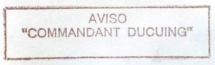 * COMMANDANT DUCUING (1983/....) * 92-08_11