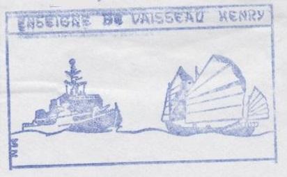 * ENSEIGNE DE VAISSEAU HENRY (1965/1994) * 93-0210
