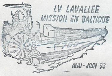 * LIEUTENANT DE VAISSEAU LAVALLÉE  (1980/2018) * 93-0611