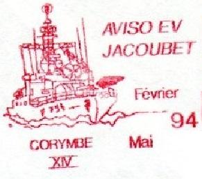 * ENSEIGNE DE VAISSEAU JACOUBET (1982/....) * 94-0411