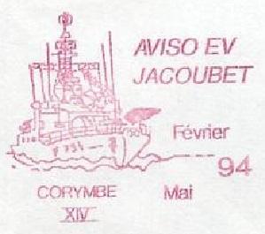 * ENSEIGNE DE VAISSEAU JACOUBET (1982/....) * 94-04_12