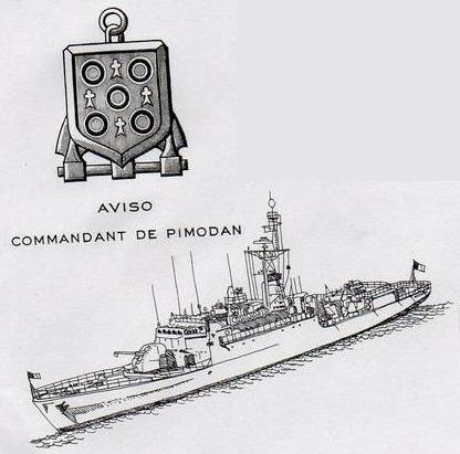 * COMMANDANT DE PIMODAN (1978/2000) * 94-0811