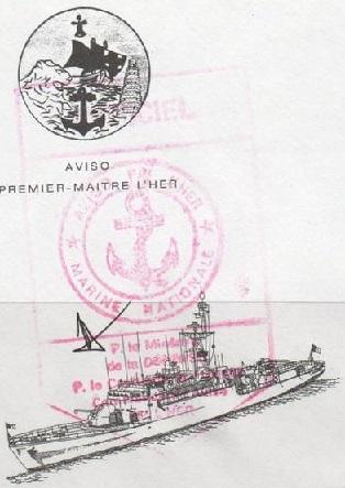 * PREMIER MAÎTRE L'HER (1981/....) * 95-0110