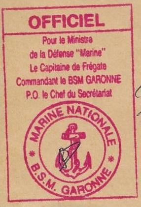 Garonne - * GARONNE (1965/2003) * 95-0512