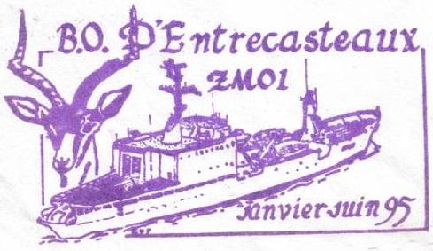 * D'ENTRECASTEAUX (1971/2008) * 95-0520
