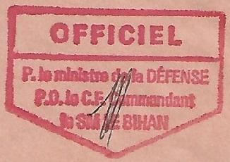 * SECOND MAÎTRE LE BIHAN (1979/2002) * 95-0610