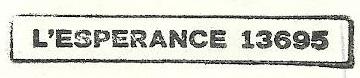 * L'ESPÉRANCE (1968/2000) * 96-0214