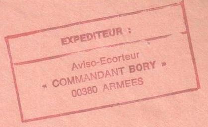 * COMMANDANT BORY (1964/1996) * 96-1010