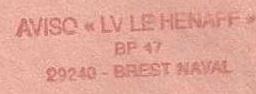 * LIEUTENANT DE VAISSEAU LE HÉNAFF (1980/....) * 96-1211