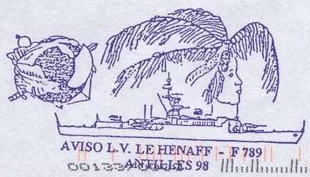 * LIEUTENANT DE VAISSEAU LE HÉNAFF (1980/....) * 98-0411