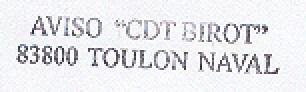 * COMMANDANT BIROT (1984/....) * 99-1210
