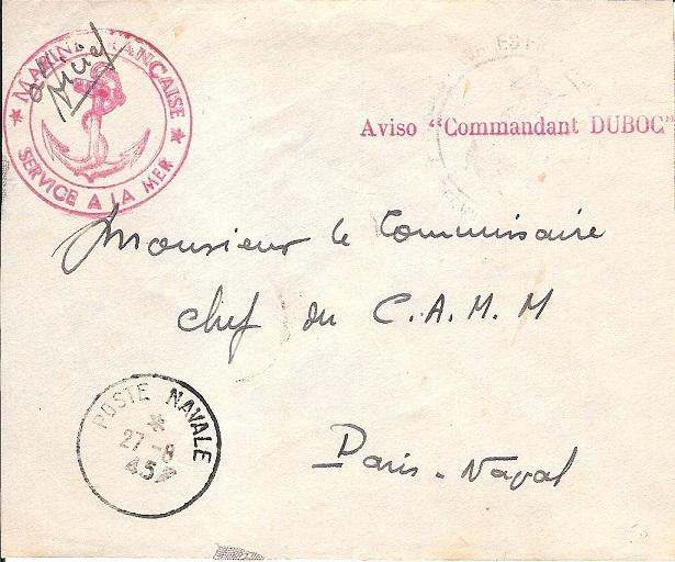 * COMMANDANT DUBOC (1939/1963) * Aviso_10