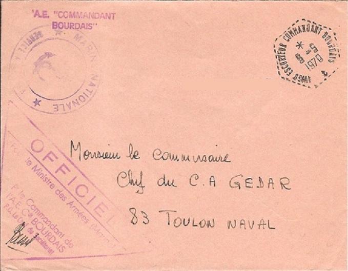 COMMANDANT BOURDAIS (AVISO-ESCORTEUR) Bourda10