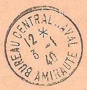 Bureau Central de la Poste Navale (B.C.P.N) Bureau10