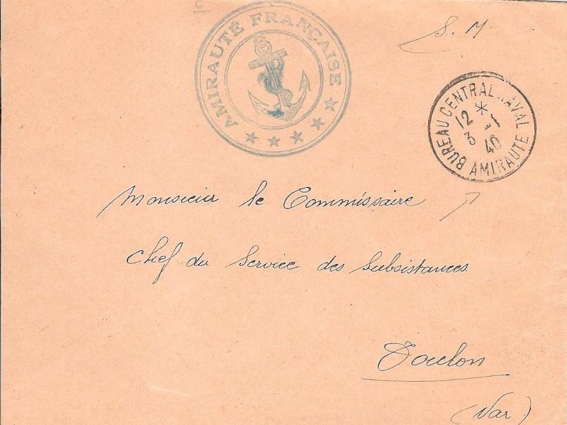 Bureau Central de la Poste Navale (B.C.P.N) Bureau11