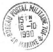 POLYNESIE FRANCAISE - BPM 701 de FARE UTE Bureau12