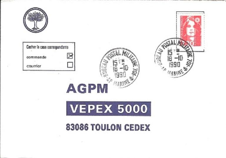 POLYNESIE FRANCAISE - BPM 701 de FARE UTE Bureau13