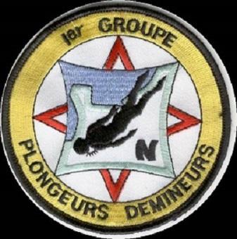 + 1er GROUPE PLONGEURS-DEMINEURS + Demine10