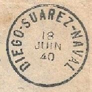 Bureau Postal Naval Temporaire N° 34 de Diego-Suarez Diego-10