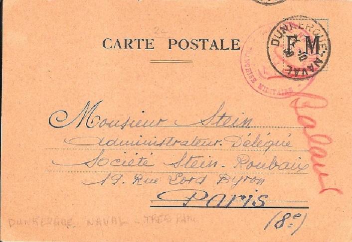 Bureau Naval N° 23 de Dunkerque Dunker10