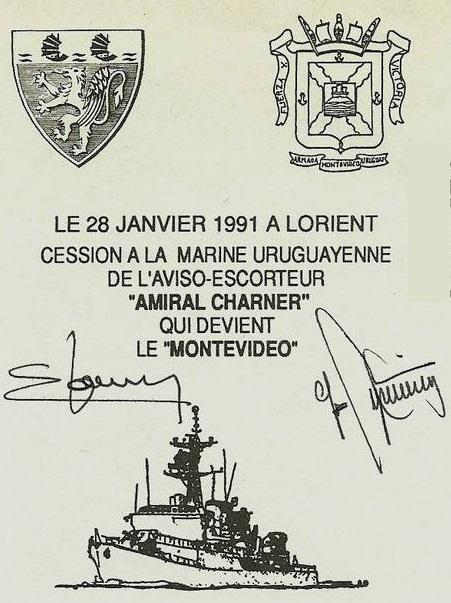 * AMIRAL CHARNER (1962/1990) * G01-9110