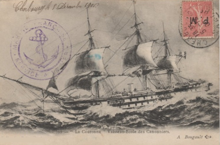 * LA COURONNE (1868/1908) * Gnfmeb10