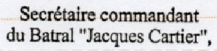 * JACQUES CARTIER (1983/2013) * Img32710
