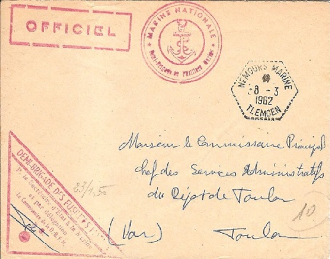 ALGERIE - NEMOURS MARINE - ORAN et TLEMCEN Nemour10