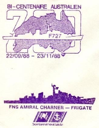 * AMIRAL CHARNER (1962/1990) * O09-8810
