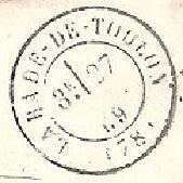 Cachets et Marques manuscrites de La Rade de Toulon 1771/1875 Rade_010