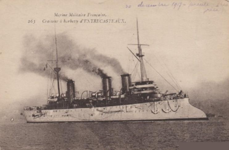 * D'ENTRECASTEAUX (1899/1922) * Sans-t47