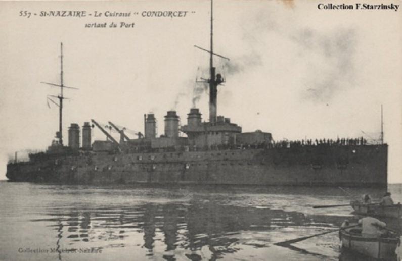 * CONDORCET (1911/1944) * Sans-t50