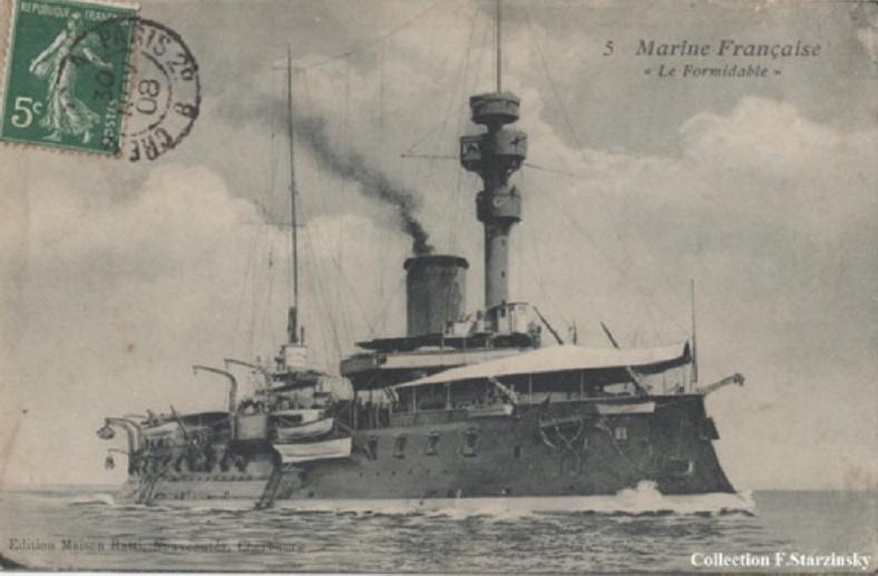 * FORMIDABLE (1888/1909) * Sans-t51