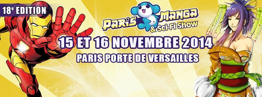 PARIS MANGA 18 - 15 & 16 novembre 2014 17244010