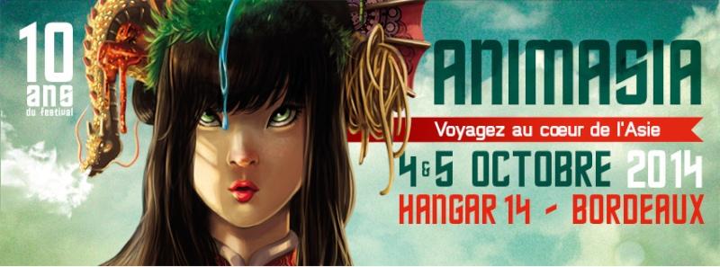 ANIMASIA 10ème édition - 4 & 5 octobre 2014 Facebo10