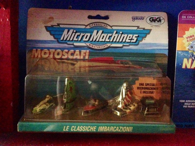 Micromachines Navi in bottiglia e motoscafi Image139