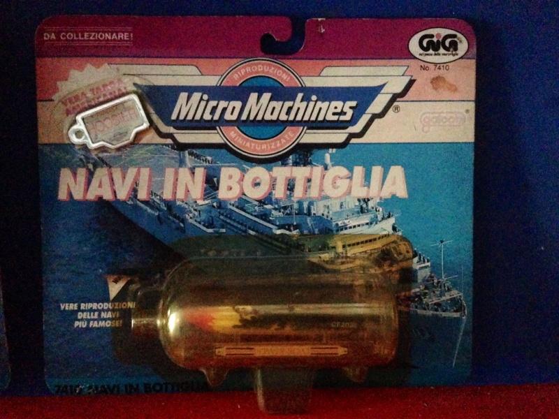 Micromachines Navi in bottiglia e motoscafi Image145