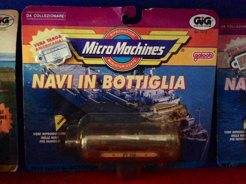 Micromachines Navi in bottiglia e motoscafi Image146