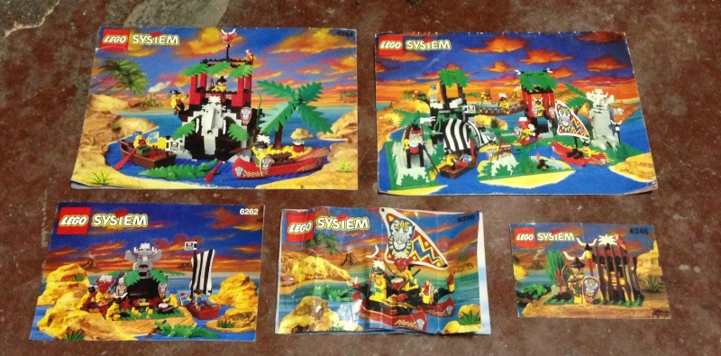 Istruzioni Lego set Oropacos anni Novanta Img_4011