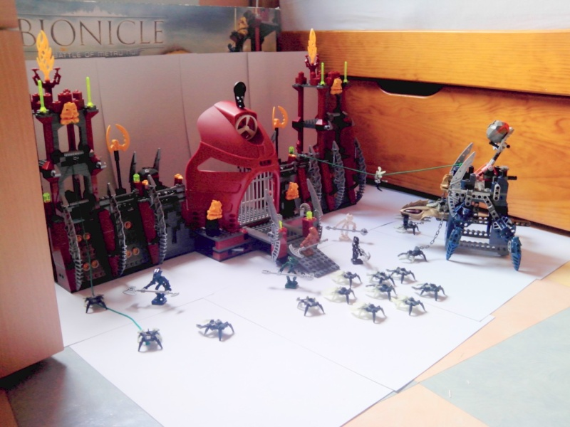 [Annonce] Vente : playset 8759 Battle of Metru Nui & 8757 Visorak Battle Ram Img_2132