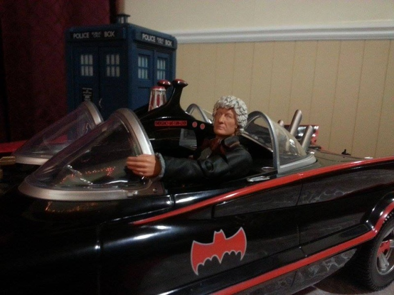 3rd Doctor and Batmobile 10872110